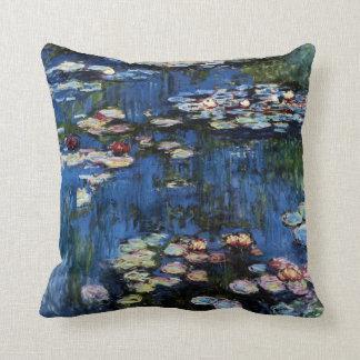Waterlilies; 1914 throw cushion