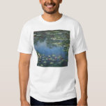 Waterlilies by Claude Monet, Vintage Flowers T Shirts