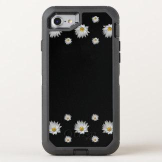 Waterlilies on Black Velvet OtterBox Defender iPhone 7 Case