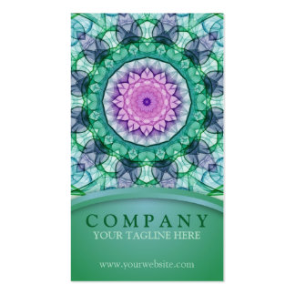 WaterLily Mandala Pack Of Standard Business Cards