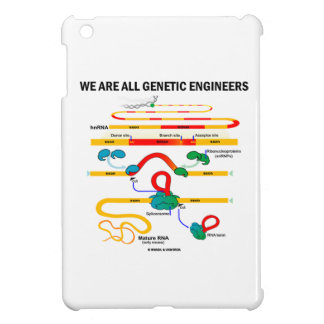 We Are All Genetic Engineers (Gene Splicing) iPad Mini Covers