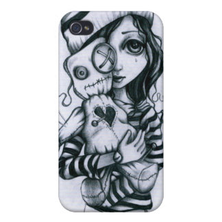"""We Are Not So Different"" sketch- iPhone case Covers For iPhone 4"