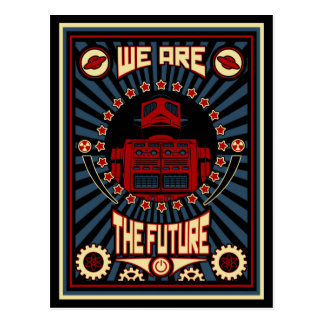 We Are The Future Postcard