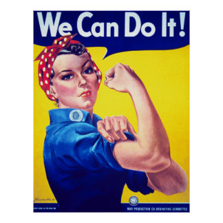 We Can Do It Rosie the Riveter Extra Large Poster