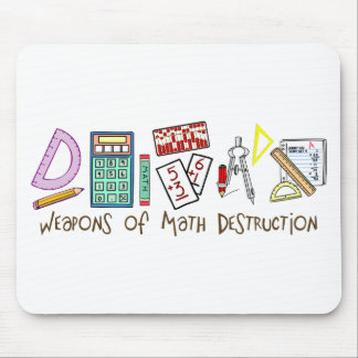 Weapons Of Math Destruction Mouse Pad