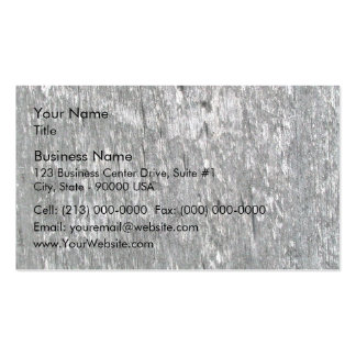 Weathered barn wood with worm holes pack of standard business cards