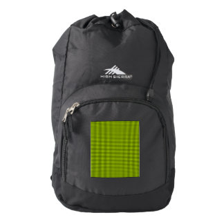 Weave - Fluorescent Yellow Backpack