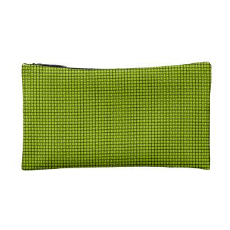 Weave - Fluorescent Yellow Cosmetics Bags