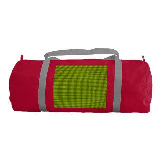 Weave - Fluorescent Yellow Gym Duffel Bag