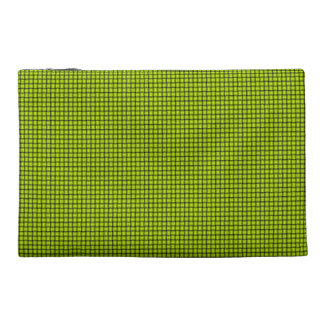 Weave - Fluorescent Yellow Travel Accessory Bags