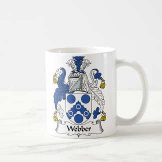 Webber Family Crest Basic White Mug