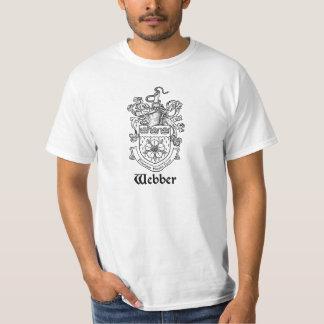 Webber Family Crest/Coat of Arms T-Shirt