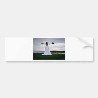 WedCliffR091810Hor Bumper Sticker