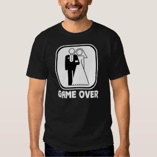 Wedding Symbol Game Over T Shirt