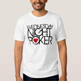 Wednesday Night Poker T-shirts