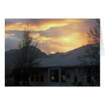 Welcome Home/The Light Is On For You Greeting Card
