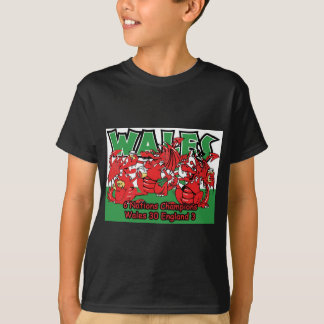Welsh Six Nation Rugby Champions, W 30-3 E Tshirt