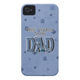 West Highland Terrier DAD iPhone 4 Covers