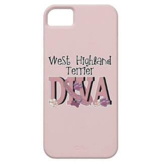 West Highland Terrier DIVA Case For The iPhone 5