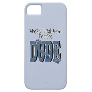 West Highland Terrier DUDE Barely There iPhone 5 Case