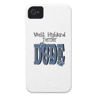 West Highland Terrier DUDE iPhone 4 Case