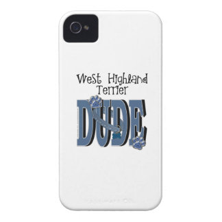 West Highland Terrier DUDE iPhone 4 Covers