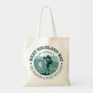 West Highland Way Budget Tote Bag