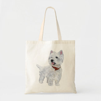 West Highland White Terrier Budget Tote Bag