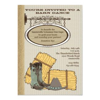 Western Barn Invitation