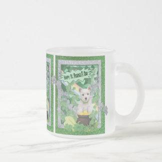 Westie Puppies St Pattys Day Customize It Mug