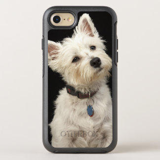 Westie (West Highland terrier) with collar OtterBox Symmetry iPhone 7 Case