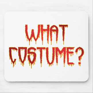 What Costume Mouse Pad