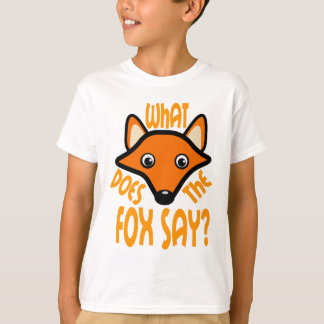 What Does the Fox Say Tee Shirts