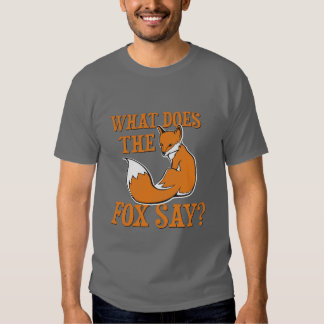 What Does The Fox Say? Tees