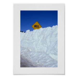 When Hell Freezes Over Poster