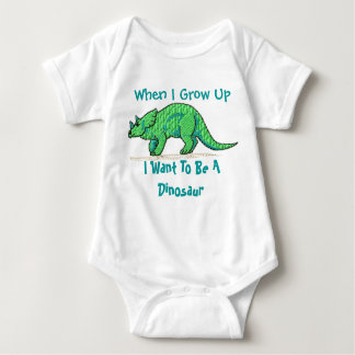 When I grow up I want to be a dinosaur Tees