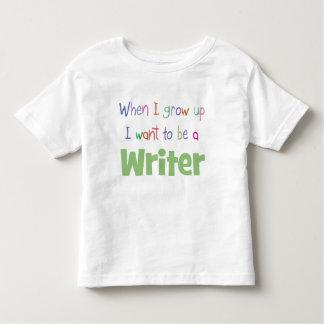 When I Grow Up Writer Shirt