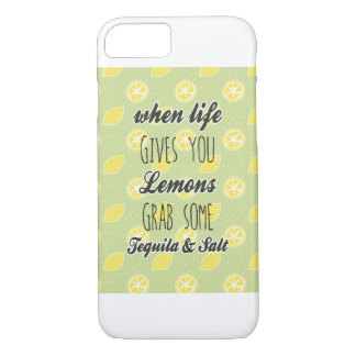 When Life Gives You Lemons Quote iPhone 7 Case