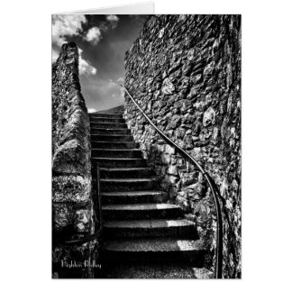 Where Your Steps Lead blank Note Card