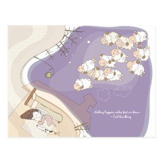 Whimsical Dreamscape 3 Postcard