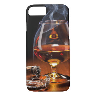 Whiskey and Cigar iPhone 7 Case