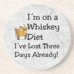 Whiskey Diet Drink Coaster