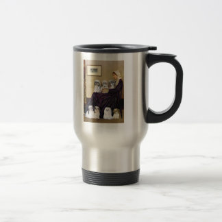 Whistlers Mother -  Shih Tzus (seven) Stainless Steel Travel Mug