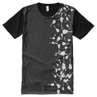 white guitars All-Over print T-Shirt