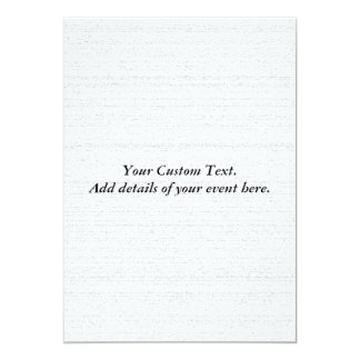 White Noise. Black and White Snowy Grain. 13 Cm X 18 Cm Invitation Card