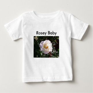 White Rose and Rose Bud Photograph Tshirt