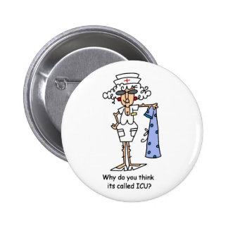 Why do you think it's called ICU? 6 Cm Round Badge