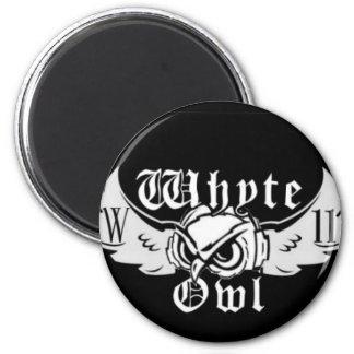 Whyte Owl Logo Magnet