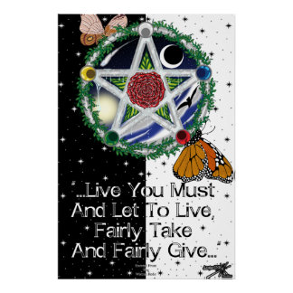 Wiccan Rede Photo Print