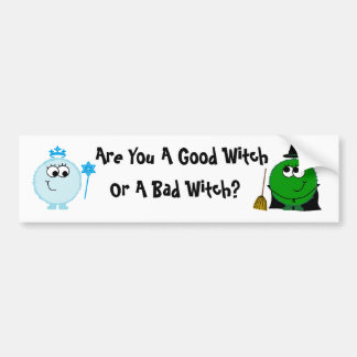 Wicked Bumpersticker Bumper Sticker